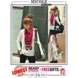 image of READYSTOCK>>MICOLE Korean Style Shoulder Bag Handbag Women Sling Bag SB2083