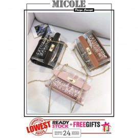 image of READY STOCK >> MICOLE Mini Shoulder Bag Handbag Women Sling Bag Beg SB2077