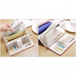 Ready Stock >> MICOLE Long Wallet Women PU Leather Zip Pouch Purse WF4008