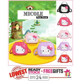 image of Ready Stock>> MICOLE KT Kids Shoulder Bag Handbag Women Sling Bag Beg SB2084