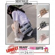 image of READYSTOCK>> MICOLE Korean Style Shoulder Bag Handbag Women Sling Bag SB2069