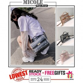 image of READYSTOCK>> MICOLE Korean Style Shoulder Bag Handbag Women Sling Bag SB2069