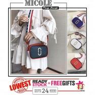 image of Ready Stock>> MICOLE Korean Fashion Dual Color Mini Sling Bag Handbag SB2073