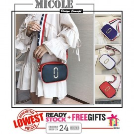 image of Ready Stock>> MICOLE Korean Fashion Dual Color Mini Sling Bag Handbag SB2073