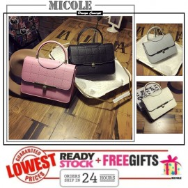 image of Ready Stock>> MICOLE Korean Shoulder Bag Handbag Women Sling Bag Beg SB2033