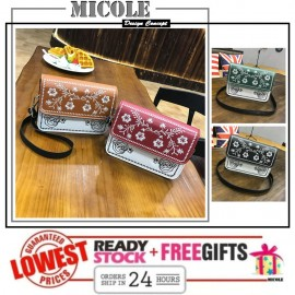 image of Ready Stock>> MICOLE Korean Style Shoulder Bag Handbag Women Sling Bag SB2052