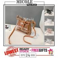 image of READY STOCK>> MICOLE Korean Shoulder Bag Handbag Women Sling Bag Beg SB2098