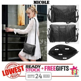 image of READY STOCK >>MICOLE Elegant Handbag Women Shoulder Bag Sling Bag SB2006