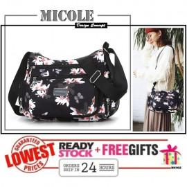 image of Ready Stock✨ MICOLE Flower Shoulder Bag Handbag Women Sling Bag Beg SB2040