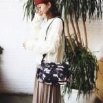 Ready Stock✨ MICOLE Flower Shoulder Bag Handbag Women Sling Bag Beg SB2040