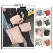 image of Ready Stock >> MICOLE 3 in 1 Shoulder Bag Handbag Women Sling Bag Beg BS3003