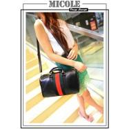 image of Ready Stock >> MICOLE PU Leather Shoulder Bag Handbag Women Sling Bag SB2032