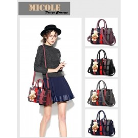 image of ReadyStock >> MICOLE Colorful Shoulder Bag Handbag Women Sling Bag Beg ST1005