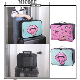 image of READY STOCK >> MICOLE Cuttie Luggage Bag Travel Bag Sport Handbag TR1002