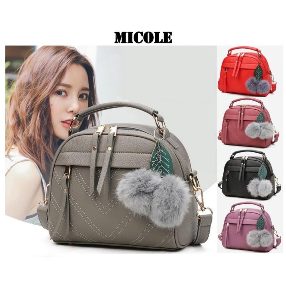 READY STOCK >> MICOLE Premium Shoulder Bag Handbag Women Sling Bag Beg SB2004