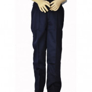 image of PRIMARY SCHOOL NAVY BLUE LONG SCHOOL PANTS - COTTON