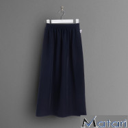 image of PRIMARY SCHOOL NAVY BLUE KAIN MAXI- WRINKLE-FREE
