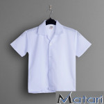PRIMARY SCHOOL GIRL WHITE SHIRT - WRINKLE-FREE