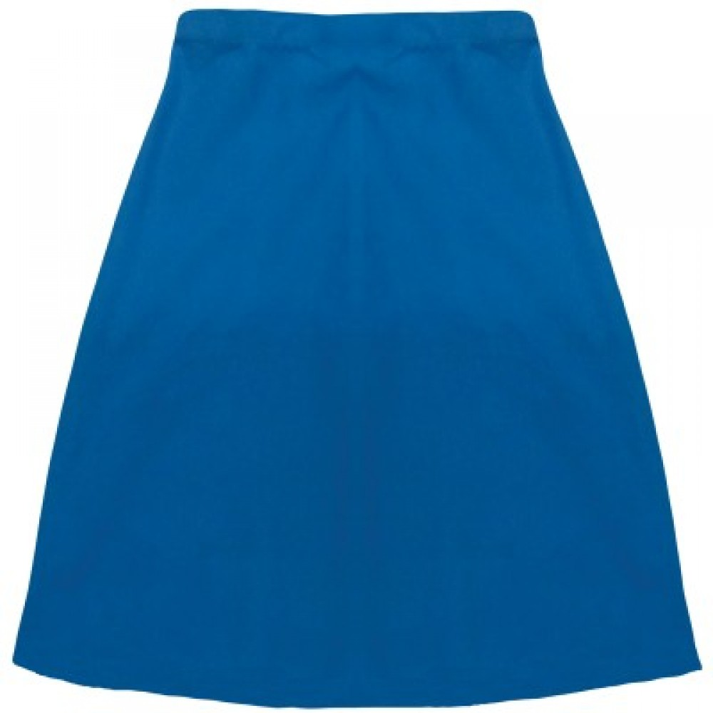 Matari Classic SKT422 Secondary School Half Skirt - Blue