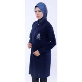 image of MATARI KADET POLIS T-SHIRT MUSLIMAH
