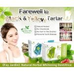 FAY JARDIN 100% NATURAL HERBAL TOOTH POWDER