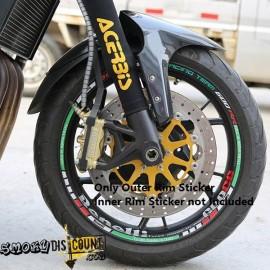 image of Motorcycle Rim's Sticker