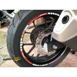 Motorcycle Rim's Sticker