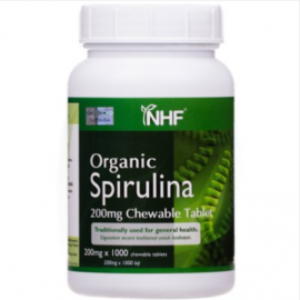 image of Natural Health Farm Organic Spirulina (1000 Tablets x 200mg)