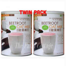 image of LOHAS Organic Beetroot Oatmilk 900g (Exp OCT 2019) [TWIN PACK]