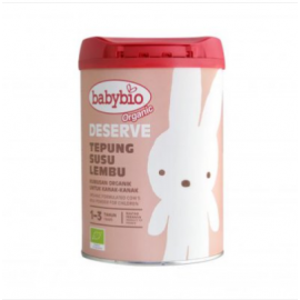 image of Babybio Organic Deserve Formulated Milk (1-3 years old) (900g)