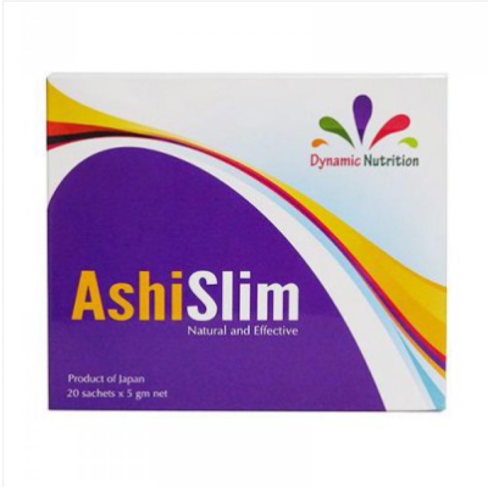 AshiSlim ~ Lose That Belly Fat ( 5g X 20 sachets) Product of Japan