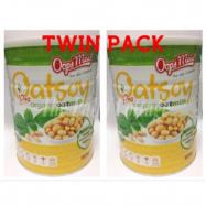 image of [TWIN PACK] Oops'Meal Oatsoy Pro Organic Oatmilk (800g x 2)