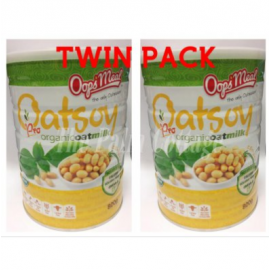 image of [TWIN PACK] Oops'Meal Oatsoy Pro Organic Oatmilk (800g x 2)