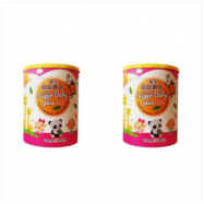 image of CompoHealth Organic Super Baby Plus Cereal 康宝超级宝贝 700g X 2 (Pack of 2 Tins)
