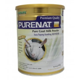 image of BONLIFE - Purenat PREMIUM Pure Goat Milk Powder 800g