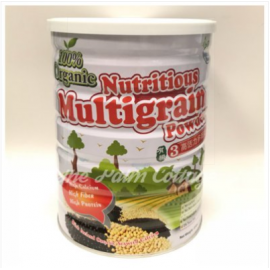 image of 100% Nutritious Multigrain Powder 有机3高活力多榖奶(850g)