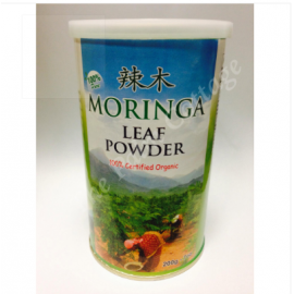 image of Organic Moringa Leaf Powder 200g / Organic Moringa Tea 85g