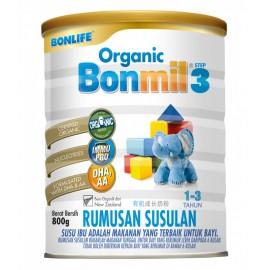 image of Bonlife Organic - Bonmil Step 3 for 1-3year (800g)