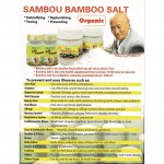 ANT 6Burned SAMBOU BAMBOO SALT 六烤竹盐 200gm
