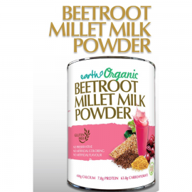image of Earth Living Organic Beetroot Millet Milk Powder 900g