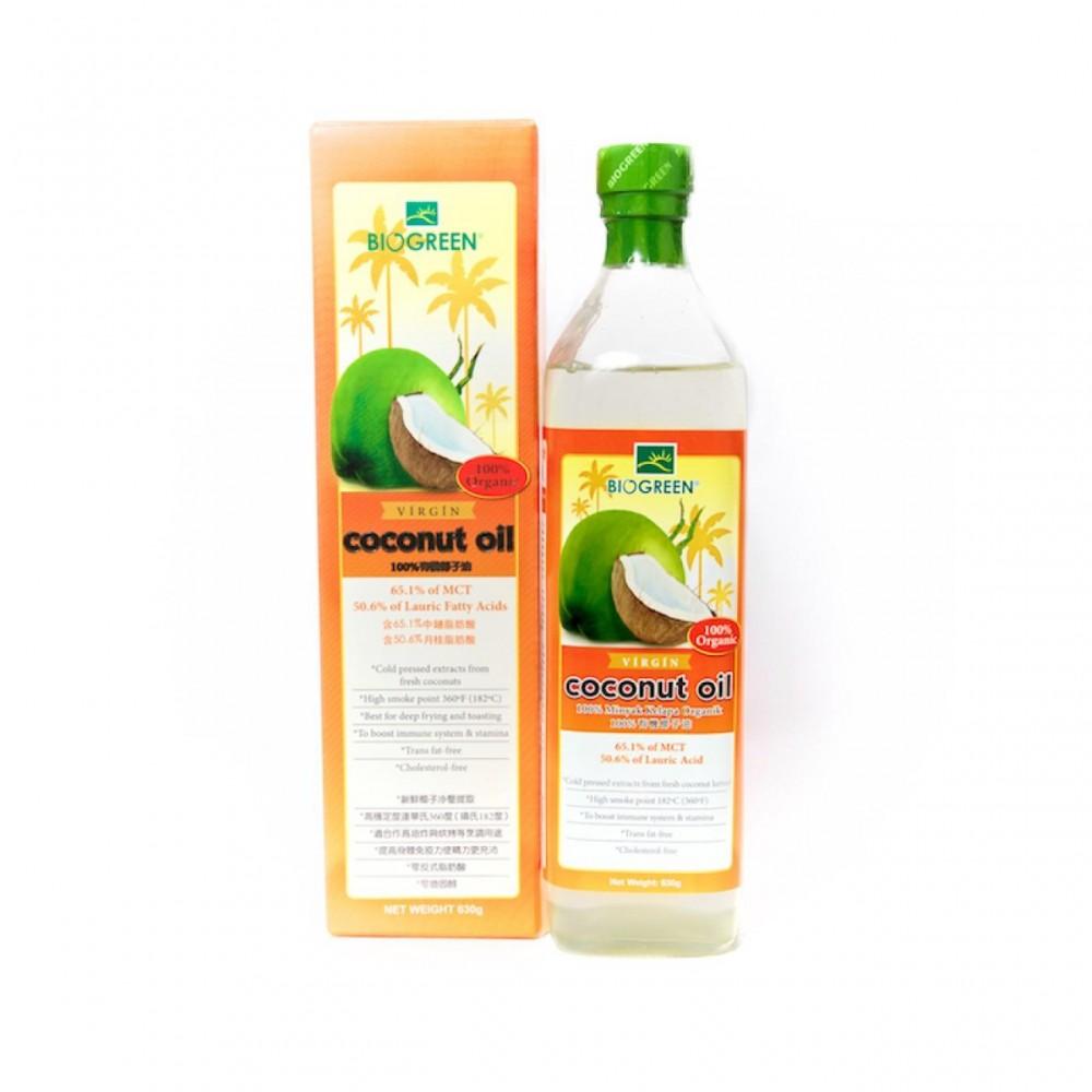 BIOGREEN Organic Virgin Coconut Oil (700ML)