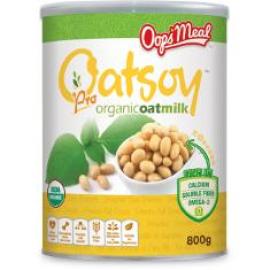 image of Oops'Meal Oatsoy pro Organic Oatmilk 有机燕麦大豆奶 800g