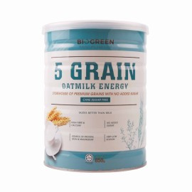 image of BIOGREEN-Five Grain Oatmilk Energy 五谷燕麦植物奶 (850g)