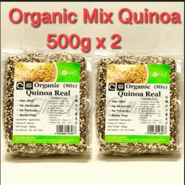 image of Lohas Organic Mix Quinoa 500g X 2Packs