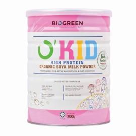 image of BIOGREEN - O'Kid High Protein Organic Soya Milk Powder (HALAL) 700G