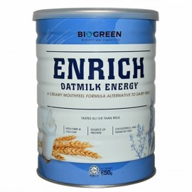 image of Biogreen Enrich Oatmilk Energy (Halal) 850G
