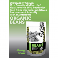 image of Earth Living Organic Mung Bean 有机绿豆 500G ( BUY 4 FREE 1)