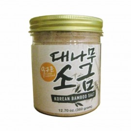 image of EARTH LIVING 9times Roasted Korean Bamboo Salt 360G
