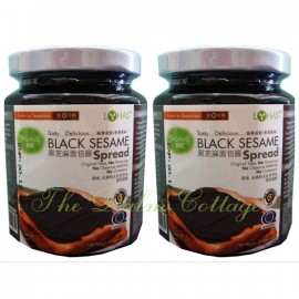 image of Lohas Black Sesame Spread 270G x 2bottles [TWIN PACK]