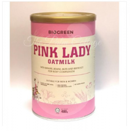 image of BIOGREEN Pink Lady Oatmilk (HALAL) 400g